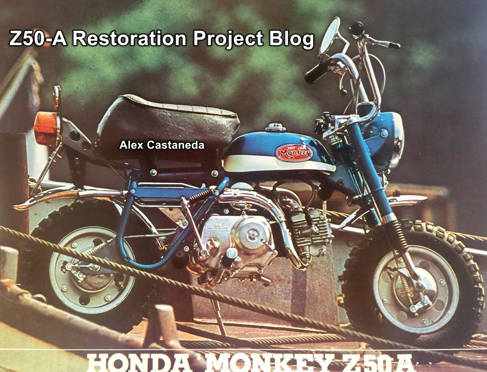 Honda Z50a General Export Type Sweden And Uk Model Mini Trail 1970 Ct70 Sapphire Blue As I Was Finishing Writing This Posting Found Someone Who Has An Original Owners Manual Written In English Which Includes The Bike