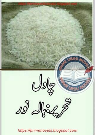 Chawal novel by Hala Noor