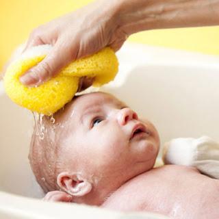 banho do bebê no inverno