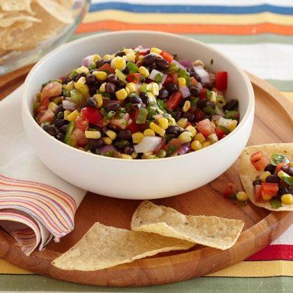 Mexican Black Bean and Corn Salsa Recipe