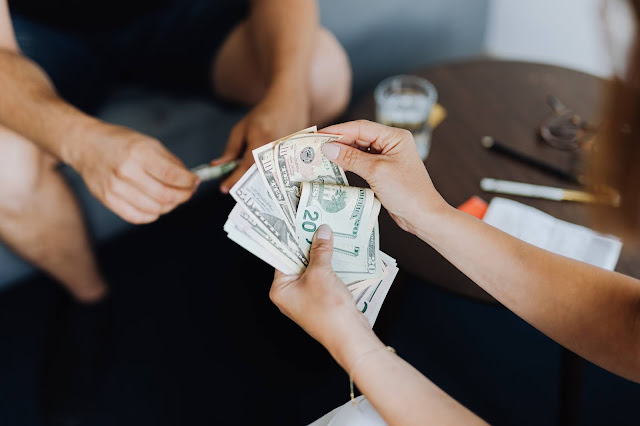Recebendo o dinheiro do empréstimo