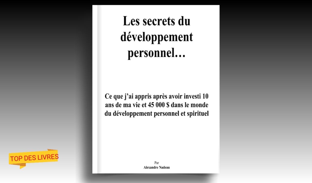 Télécharger : Les secrets du développement personnel en pdf