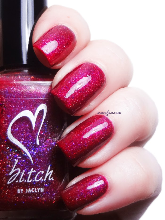 xoxoJen's swatch of b.i.t.c.h. by jaclyn Sex & Candy