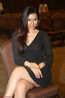Kyra Dutta in black At Rogue Movie Audio Launch ~  043.JPG