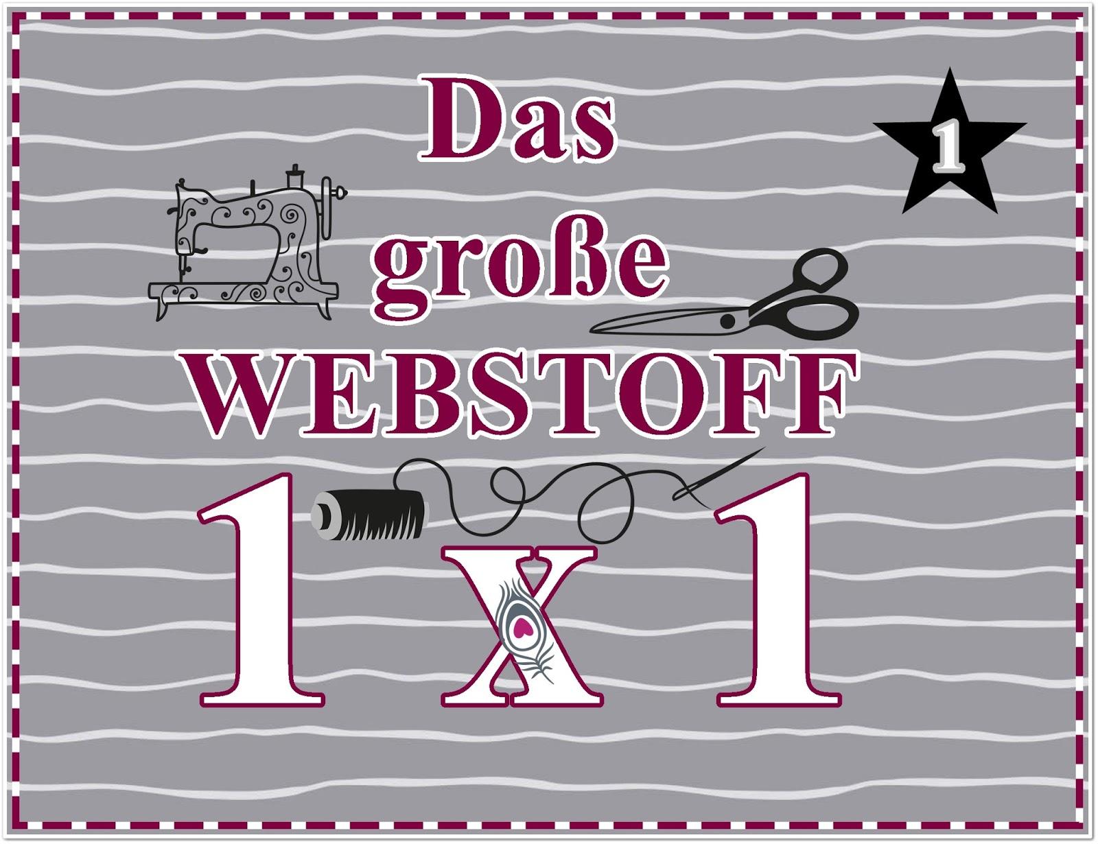 Stoff und Liebe Blog: Das große Webstoff 1x1 - TEIL 1