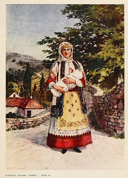 Abanian peasant women(Greece)