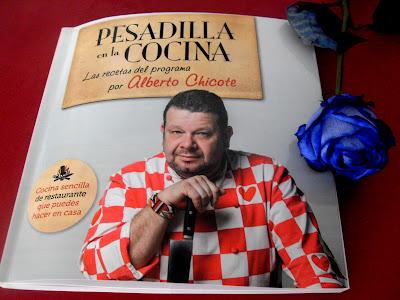 Libro Pesadilla en la cocina de Alberto Chicote.