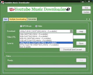 Youtube Music Downloader v7.7.0 + Serial [MEGA]