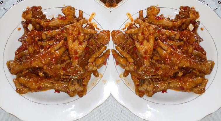 Resep Dimsum Ceker Ayam Sederhana Bumbu Kecap Pedas
