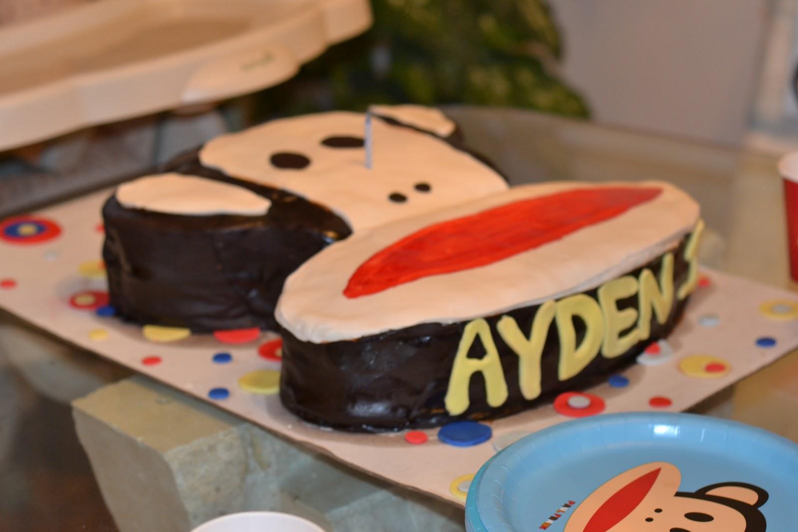 Paul Frank Birthday Cake Cupcakes