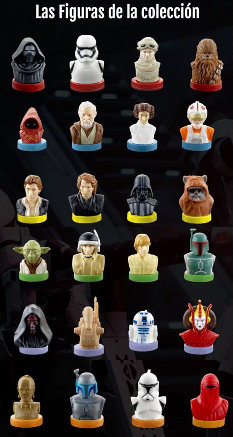 Figuras Parchís Star Wars