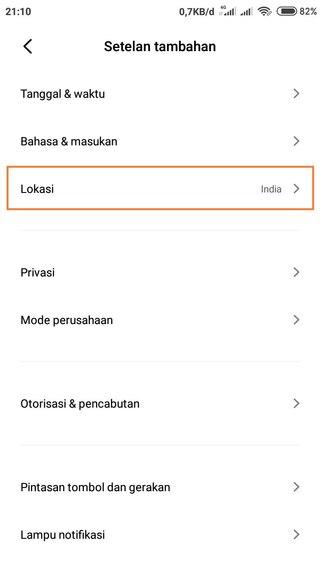 Cara Mengubah Tulisan di Hp Xiaomi