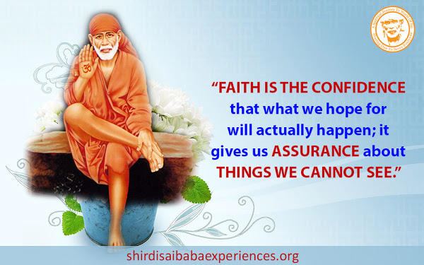 Experience Of Baba's Miracles And Love