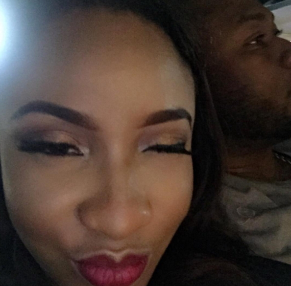 tonto dikeh pregnancy photo