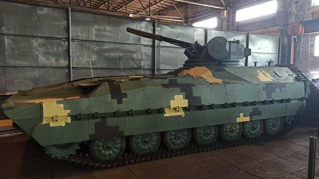 Прототип БМП Кевлар-Е від приватної компанії Укріннмаш