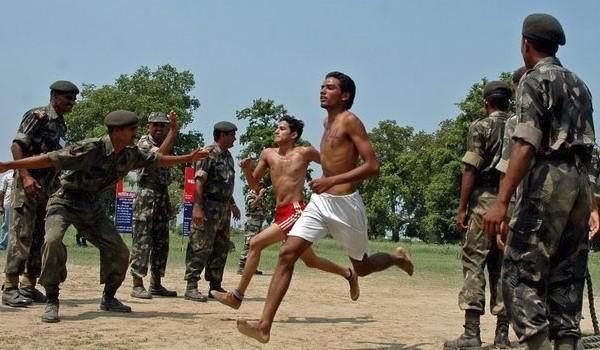 Vizianagaram  Army Rally, Indian Army Rally, Open Bharti Rally