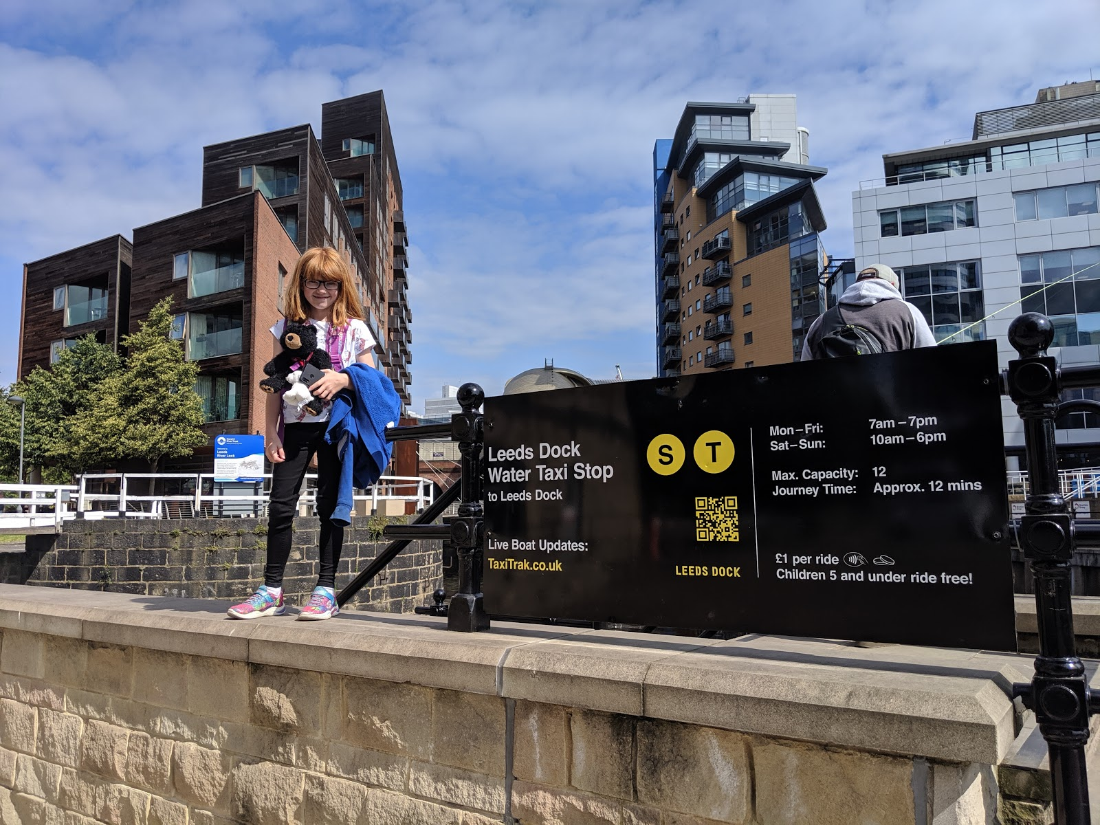 A Short Break in Leeds with Holidays by National Express  - Leeds Water Taxi Pick Up Point