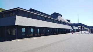 道の駅「おびら鰊番屋」駅舎