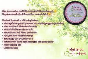 Bodylotion whitening bidara Makassar
