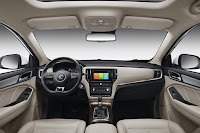 MG RX5 (2019) Dashboard