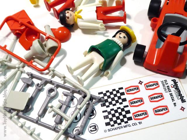 Playmobil Schaper adhesivos como Famobil