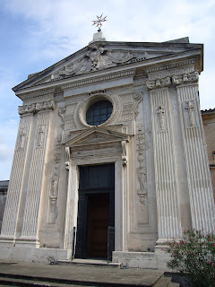 The church of Santa Maria del Priorato on Rome's Aventine Hill