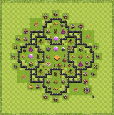 War Base Town Hall Level 8 By Fritochennai (TH8 shree Layout)