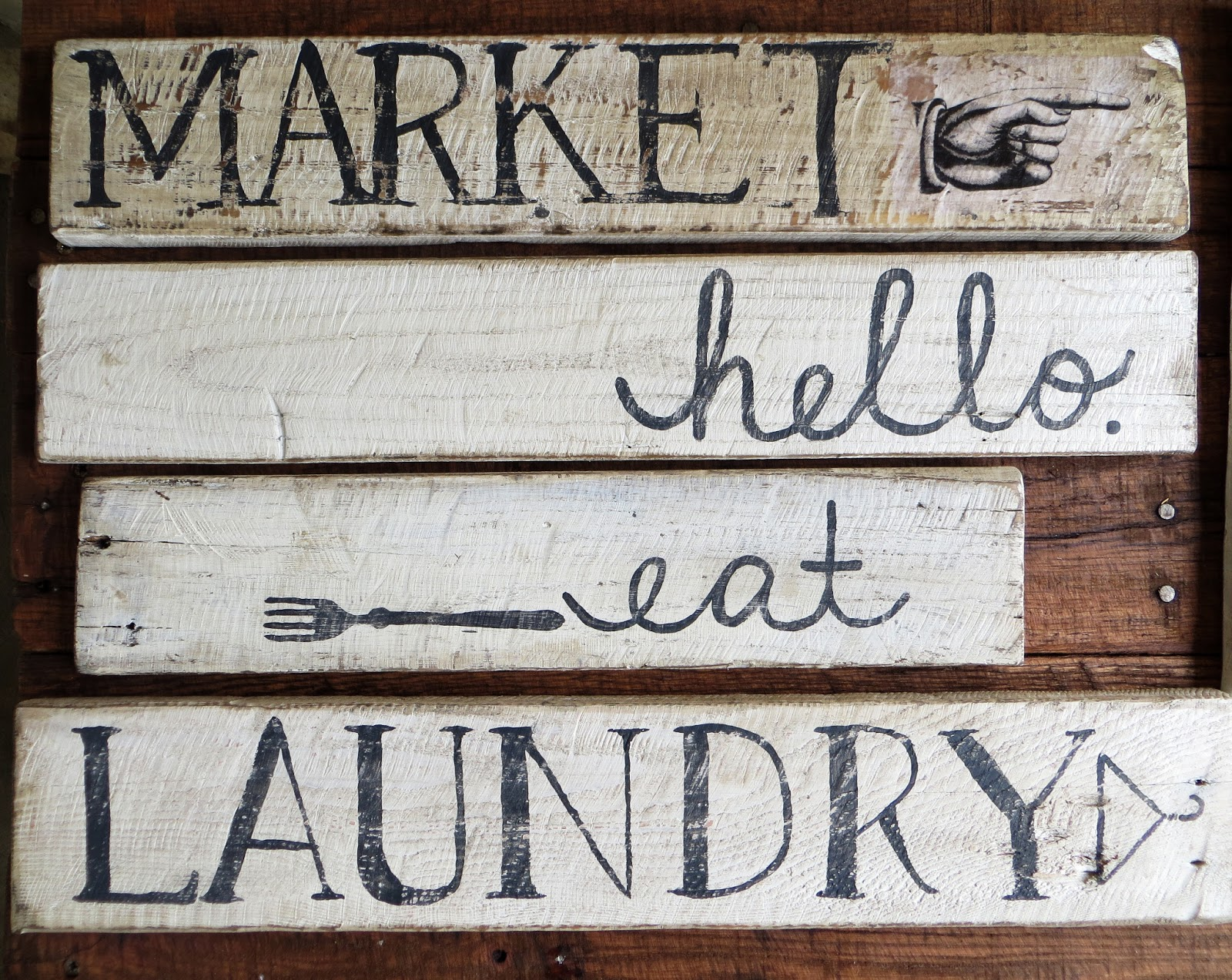 Namely Original: Pallet Wood Sign Ideas
