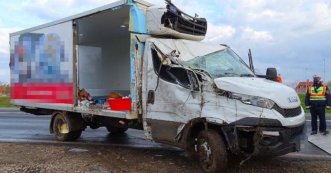 Csoda, hogy nem sérült meg a sofőr ebben a vásárhelyi balesetben