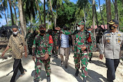 Kapolres Kepulauan Selayar Buktikan Sinergitas TNI - POLRI Makin Erat Di Program TMMD Ke-111