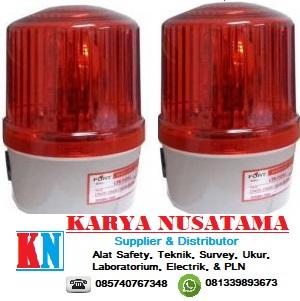 Jual Lampu Rotary Gedung Warning Light TAB 220V 5Inch with Buzzer di Samarinda