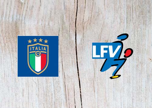 Italy vs Liechtenstein Full Match & Highlights 26 March 2019