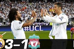 Cuplikan Gol Real Madrid vs Liverpool 27 Mei 2018 3-1