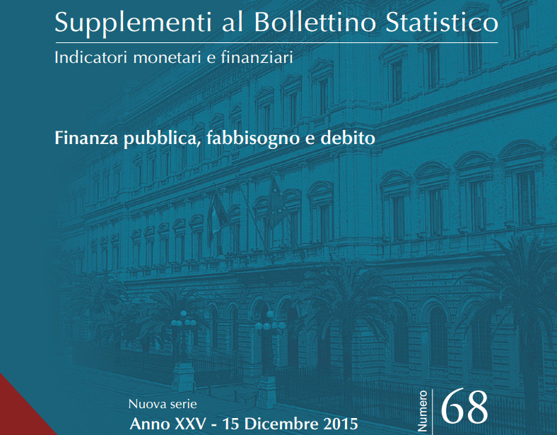 Supplementi al Bollettino Statistico. Dicembre 2015