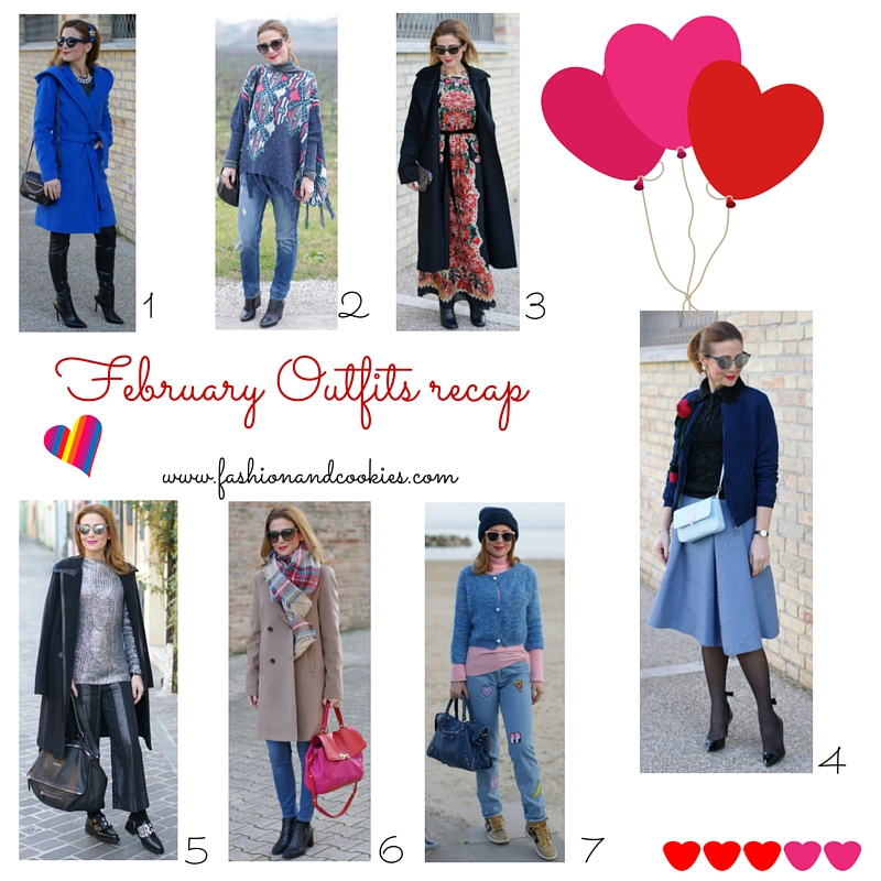 Welcome March, Leap February fashion outfits recap on Fashion and Cookies fashion blog, fashion blogger style