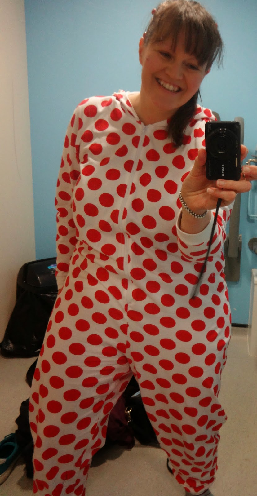 TK Maxx Comic Relief Red Nose Day 2015 onesie