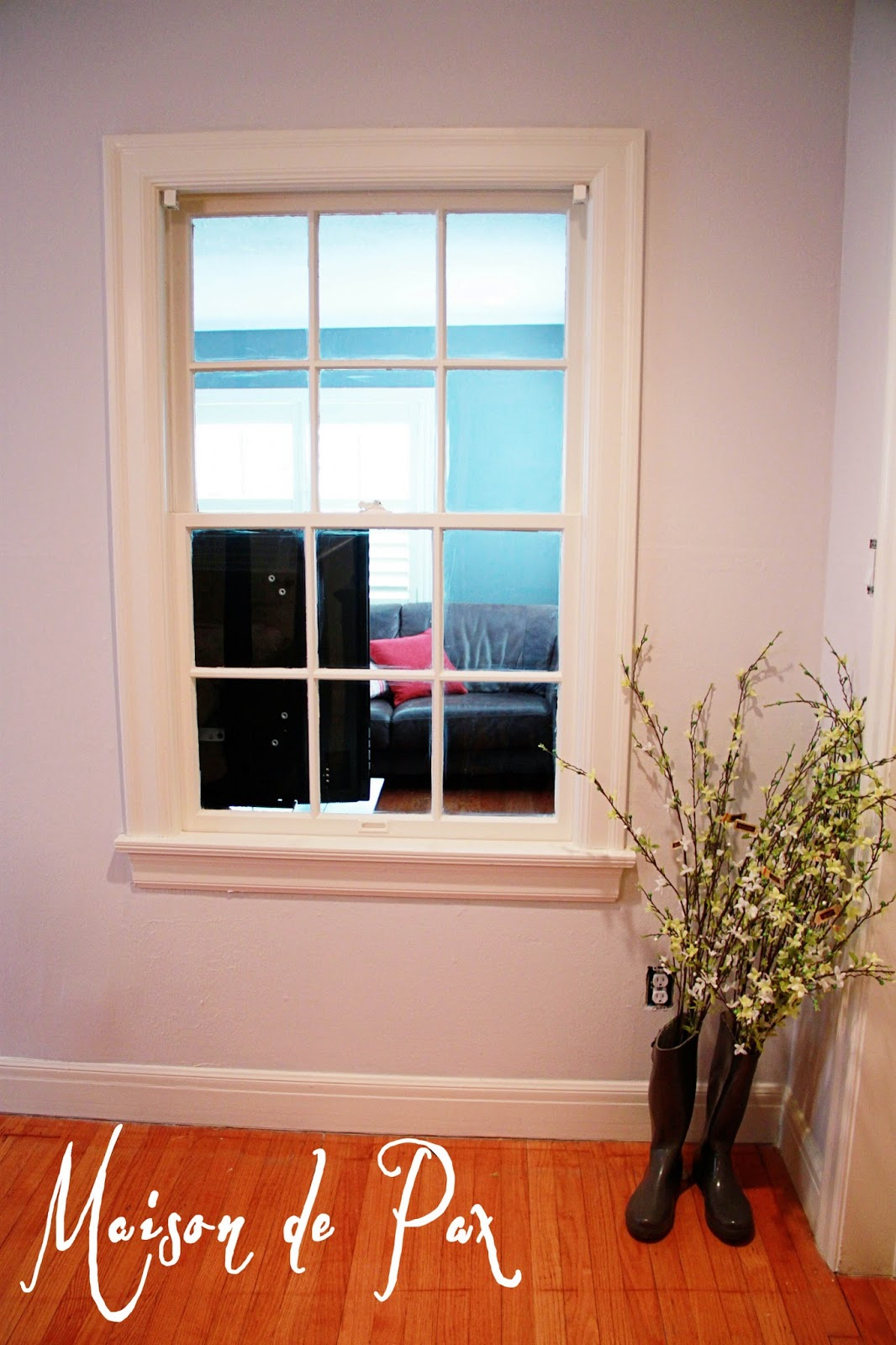 Alternate Trim Paint Color Wood Window Frame