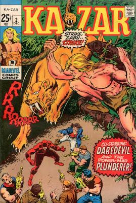 Ka-Zar #2, Daredevil