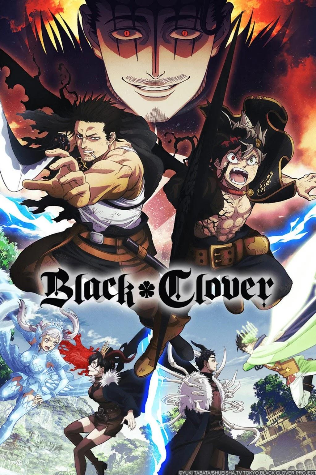 Crunchyroll Anuncia Dublagem do episódio 52 ao 103 do Anime Black Clover