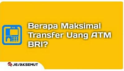 limit transfer atm bri