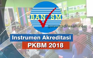 instrumen akreditasi pkbm 2018