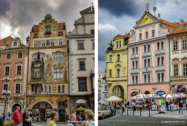 Praça da Cidade Velha de Praga (Staroměstské náměstí)