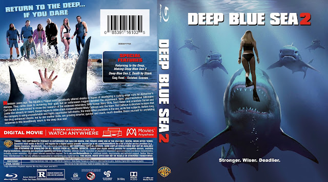 Deep Blue Sea 2 Bluray Cover