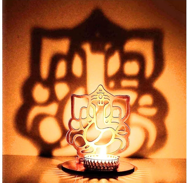 lord ganesh lamp