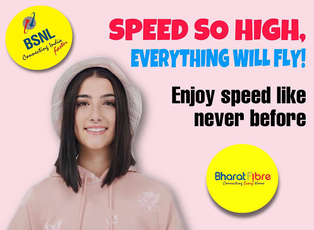 No more Voice only plans in BSNL Bharat Fiber; Free Unlimited Voice facility will be offered with data for FTTH Broadband Connections