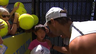 Rafael Nadal consoles little boy at US Open. Watch adorable moment