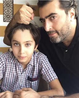 لأول مرة صورة ابن باسم ياخور على مواقع التواصل