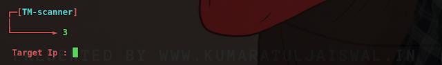TM web vulnerability scanning tool  by kumaratuljaiswal.in or www.hackingtruth.in