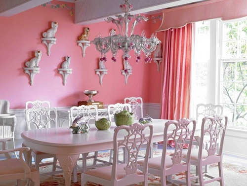14 Pink Dining Rooms The Glam Pad