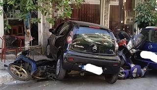 Όποιον πάρει ο χάρος – Νεαρή οδηγός καβάλησε τρεις μοτοσυκλέτες σε απίστευτο ατύχημα - Εικόνες